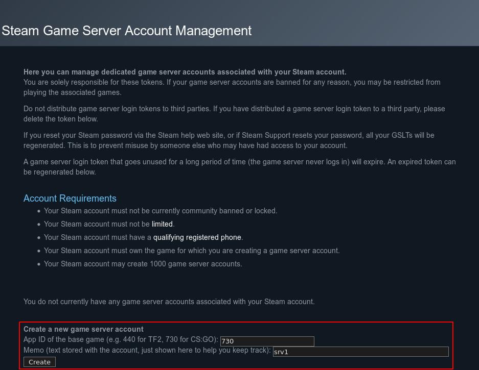 Скачать сервер cs go linux